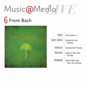Gilles Vonsattel: Music@menlo, From Bach, Vol. 6