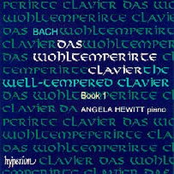 Angela Hewitt: The Well-Tempered Clavier, Book 2, Disc 1