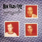 Album cover of Whatever and Ever Amen, by Ben Folds Five