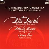 Christoph Eschenbach: Bartok: Concerto for Orchestra - Martinu: Memorial to Lidice - Klein: Partita for Strings