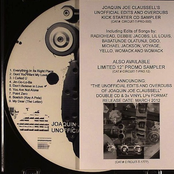 Joaquin Joe Claussell's Unofficial Edits And Overdubs Kick Starter Edition