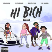 Hi Bich (Remix) [feat. YBN Nahmir, Rich the Kid & Asian Doll] - Single