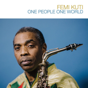 Femi Kuti One People One World Radio G! Angers