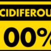 100% acidiferous
