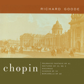 Richard Goode: Chopin: Polonaise-Fantasie Op. 61; Nocturne Op. 55, No. 2; Mazurkas Scherzo, Op. 54; Barcarolle, Op. 60