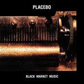 Album cover of Black Market Music, by Placebo