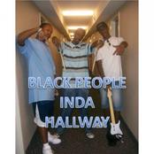 black people inda hallway
