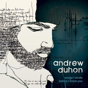 Andrew Duhon: Songs I Wrote Before I Knew You