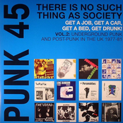 There Is No Such Thing As Society. Get a Job, Get a Car, Get a Bed, Get Drunk! - Underground Punk and Post Punk in the UK, 1977-1981, Vol. 2.