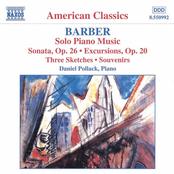 Barber: BARBER: Piano Sonata, Op. 26 / Excursions / Souvenirs