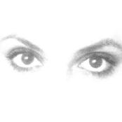 shine of her eyes