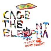 Album cover of Thank You Happy Birthday, by Cage the Elephant