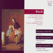 Karina Gauvin: Bach: Little Notebook for Anna-Magdalena Bach (selections)