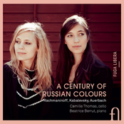 Camille Thomas: Rachmaninoff, Kabalevsky & Auerbach: A Century of Russian Colours