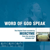 Word Of God Speak - The Original Accompaniment Track as Performed by MercyMe