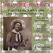 J.S. Bach: Partita No. 3, BWV 1006 for Unaccompanied Ukulele