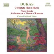 Dukas: DUKAS: Piano Sonata / Variations on a Theme of Rameau