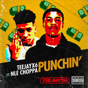 Teejayx6: Punchin' (feat. NLE Choppa)