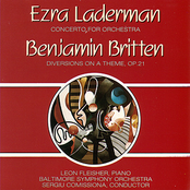 Baltimore Symphony Orchestra: Laderman - Concerto For Orchestra/ Britten - Diversions On a Theme, Op. 21