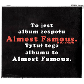 Almost Famous: Almost Famous