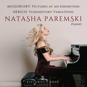 Natasha Paremski: Mussorgsky: Pictures at an Exhibition - Fred Hersch: Variations on a Theme by Tchaikovsky