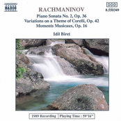 RACHMANINOV: Variations on a Theme of Correlli / Moments Musicaux, Op. 16