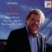 Emanuel Ax: Brahms: Fantasies, Op. 116, Piano Pieces, Op. 119, Piano Sonata No. 2