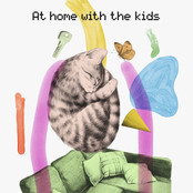 At home with the kids