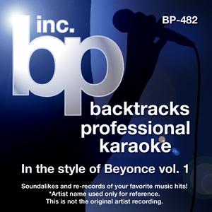 Karaoke - In the Style of Beyonce V. 1 (Karaoke Version)