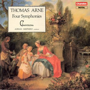 Arne: Symphonies Nos. 1-4