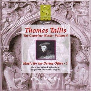 Thomas Tallis: The Complete Works - Volume 4