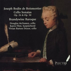Joseph Bodin De Boismortier Cello Sonatas, Op. 26 & Op. 50