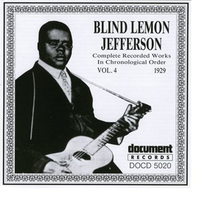 Blind Lemon Jefferson Vol. 4 1929