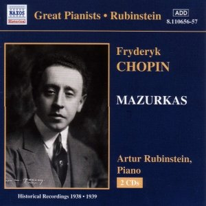 CHOPIN: Mazurkas (Rubinstein) (1938-1939)