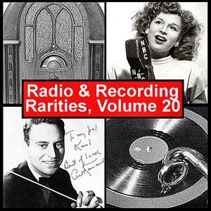 Image for 'Radio & Recording Rarities, Volume 20'