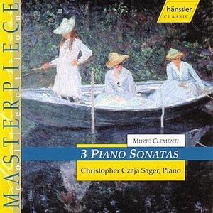 3 Piano Sonatas