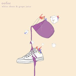 white shoes & grape juice