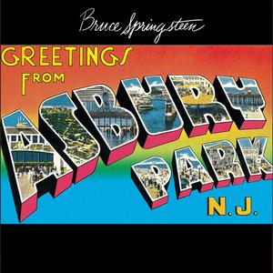 Album artwork for Greetings from Asbury Park, N.J. by Bruce Springsteen