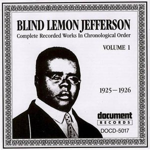 Blind Lemon Jefferson Vol. 1 (1925 - 1926)