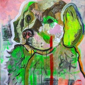 Perro Verde y Triste
