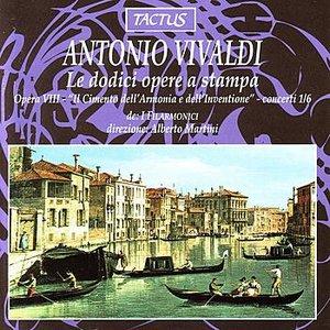 Vivaldi: Le dodici opere a stampa - Opera VIII: Concerti 1/6