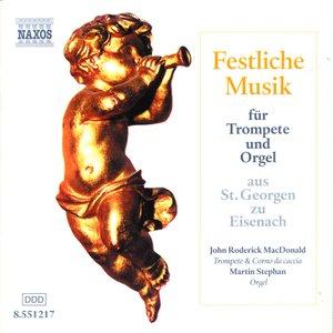 Avatar für John Roderick MacDonald, trumpet / Martin Stephan, organ