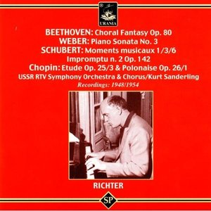 Sviatoslav Richter Plays Beethoven, Weber, Schubert & Chopin