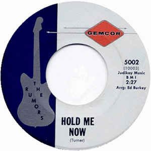 Hold Me Now / Without Her