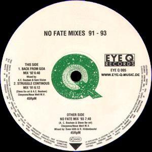 No Fate Mixes 91-93