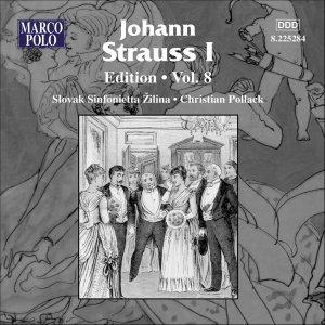 STRAUSS I, J.: Edition - Vol. 8