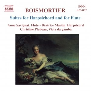 BOISMORTIER: Suites for Harpsichord and for Flute