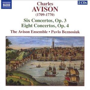 Avison: 6 Violin Concertos, Op. 3 / 8 Violin Concertos, Op. 4