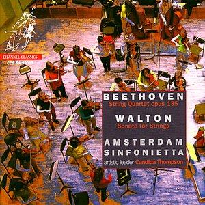 Beethoven: String Quartet in F Major & Walton: Sonata for Strings