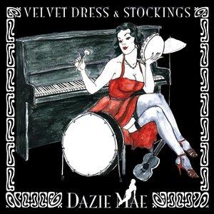 Velvet Dress & Stockings